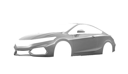 Цвета кузова Civic Coupe